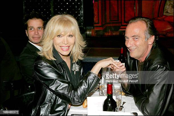 Amanda Lear and Yves Lecoq at Dalida TV Film Tribute To The Singer