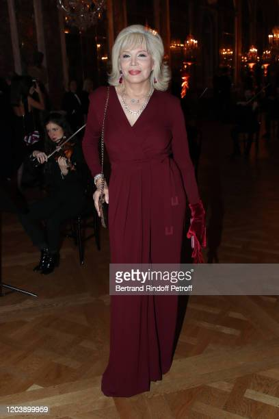 "Amanda Lear attends the 20th Gala Evening of the ""Paris Charter Against Cancer"" for the benefit of the ""International Institute of Cancer Research in..."