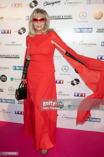 Amanda Lear attends the 26th 'Trophees Du Film Francais' Photocall at Palais Brongniart on February 05 2019 in Paris France