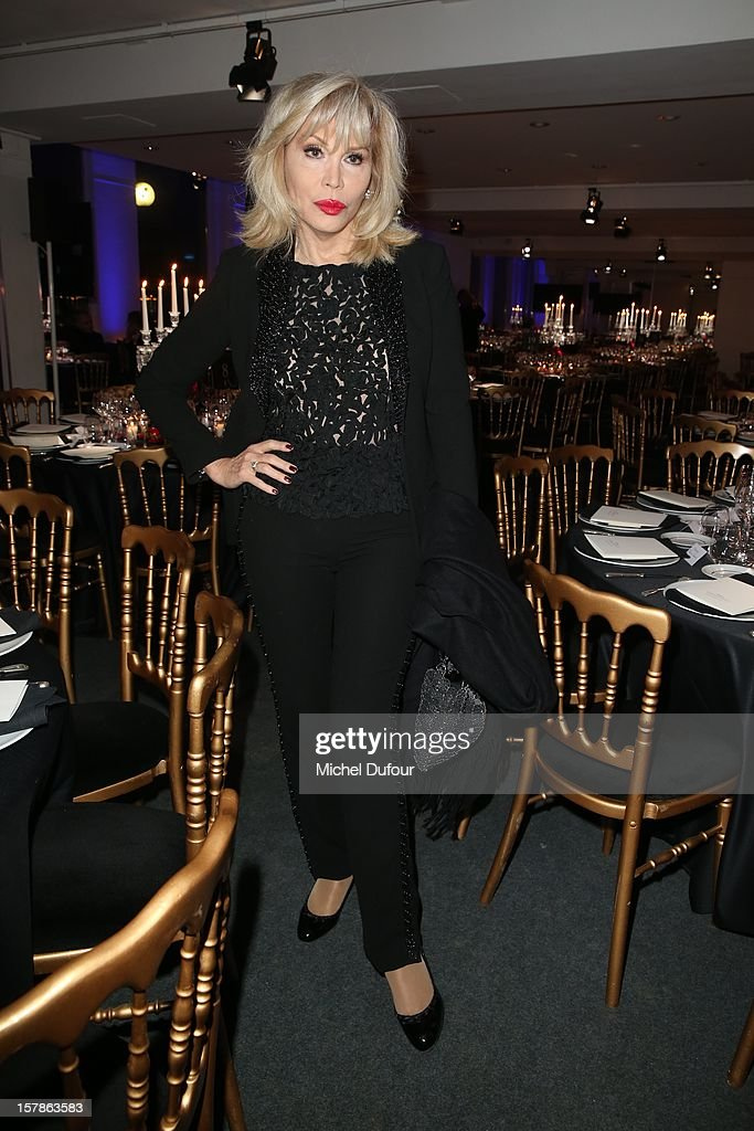 Amanda Lear attends the Babeth Djian Hosts Dinner For Rwanda To The Benefit Of A.E.M. on December 6, 2012 in Paris, France.
