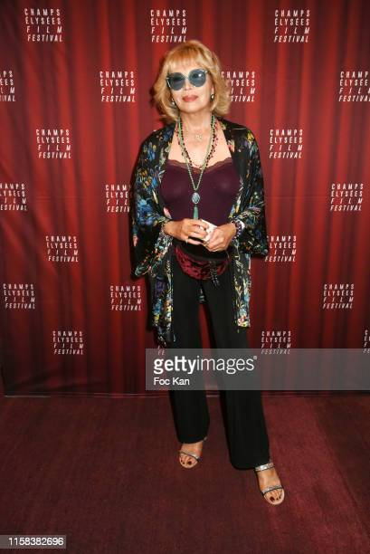 Amanda Lear attends the closing ceremony of 8th Champs Elysees Film Festival Paris, France.