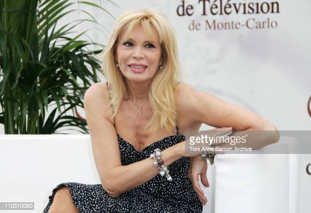 Amanda Lear during 2007 Monte Carlo TV Festival Amanda Lear Photocall at Grimaldi Forum in Monte Carlo Monaco