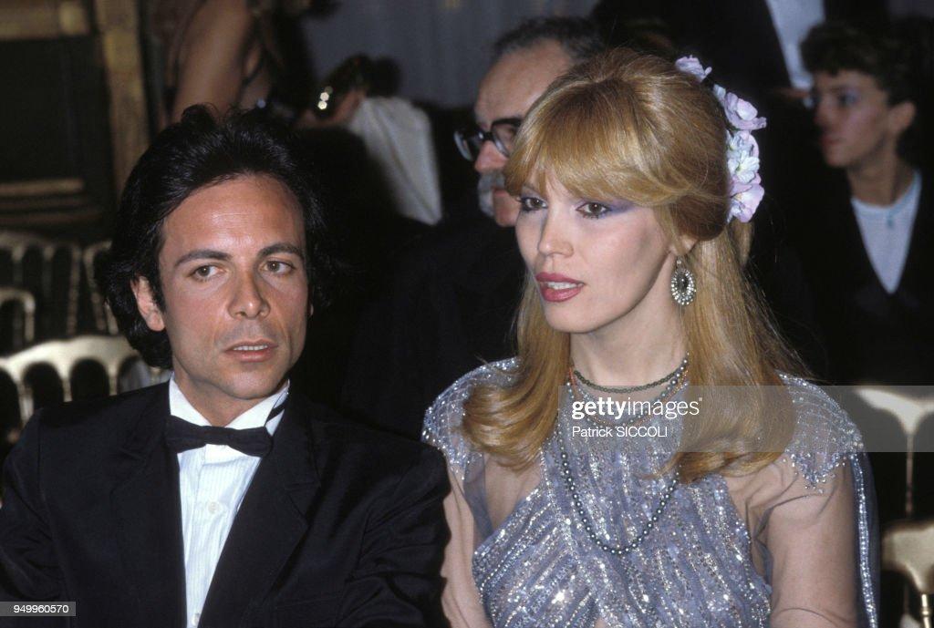 Amanda Lear et Alain-Philippe Malagnac dans les années 70 : News Photo
