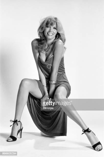 Amanda Lear french singer and actress Studio Pix London Friday 9th June 1978