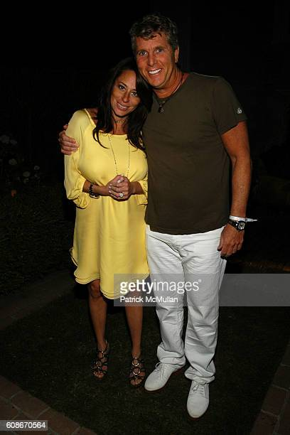 Amanda Lederman and Donny Deutsch attend THE CINEMA SOCIETY THE WALL STREET JOURNAL host the after party for FIERCE PEOPLE at Private Residence on...