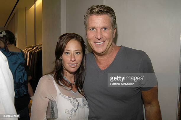 Amanda Lederman and Donny Deutsch attend The opening of The ELIE TAHARI East Hampton Store benefiting NEW YORKERS FOR CHILDREN at 1 Main St on August...
