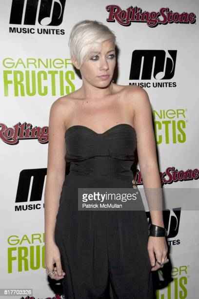 Amanda Leigh Dunn attends EMPOWERING WOMEN THROUGH MUSIC INITIATIVE by MUSIC UNITES at The Standard's Le Bain on October 4 2010 in New York City