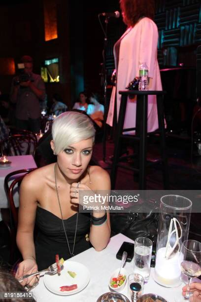Amanda Leigh Dunn attends PRADA 'Swing' Sunglasses Launch Event at Joe's Pub on July 14 2010 in New York City