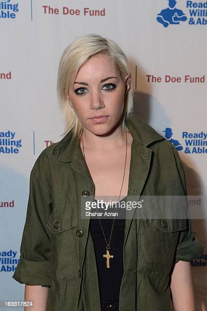 Amanda Leigh Dunn attends the The Doe Fund's Second Annual Sweet New York at the Classic Car Club on March 7 2013 in New York City