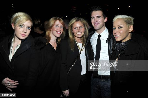 Amanda Leigh Dunn Michelle Bondarchuk Eleanor Banco Derek Hester and Jane Bang attend FEED THE HOMELESS A Fundraiser for the Coalition of the...