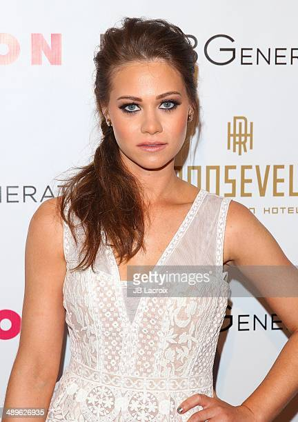 Amanda Leighton attends the Nylon Magazine May Young Hollywood Issue Party on May 8 2014 in Hollywood California