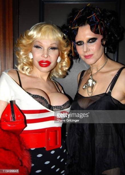 Amanda Lepore and Susanne Bartsch during The Launch Of La Dolce Eve Kitten Doll Hosted By Amanda Lepore February 20 2007 at Room Service in New York...