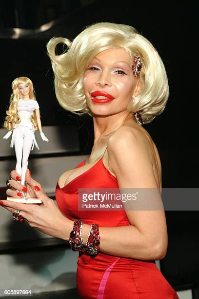 Amanda Lepore attends AMANDA LEPORE DOLL After Party at Happy Valley on April 11 2006 in New York City