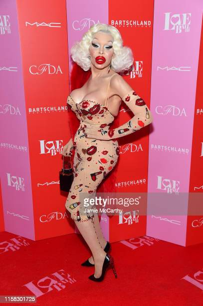 Amanda Lepore attends Love Ball III at Gotham Hall on June 25 2019 in New York City