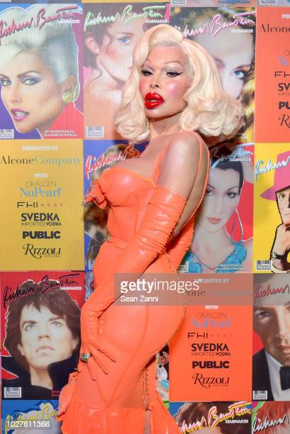 Amanda Lepore attends STARMAKER Book Launch By Roger And Mauricio Padilha at Public Hotel on September 5 2018 in New York City