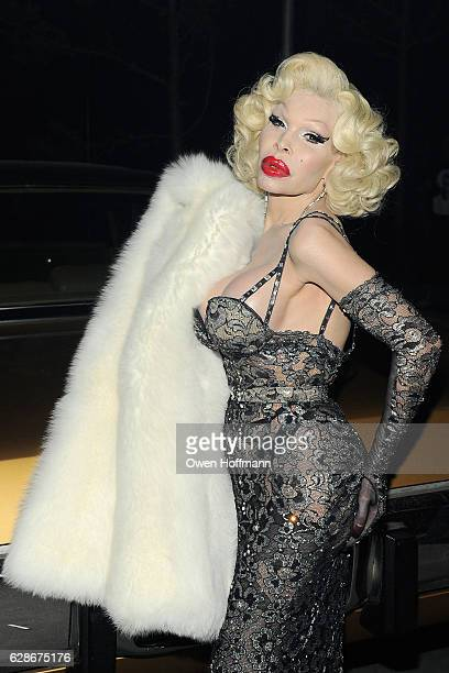 Amanda Lepore attends the Coach 75th Anniversary Party on December 8 2016 in New York City