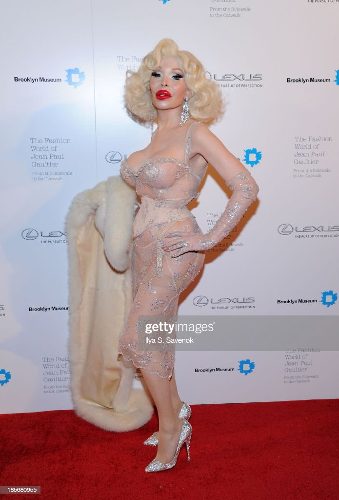 The Fashion World Of Jean Paul Gaultier: From The Sidewalk To The Catwalk VIP Reception And Viewing : News Photo