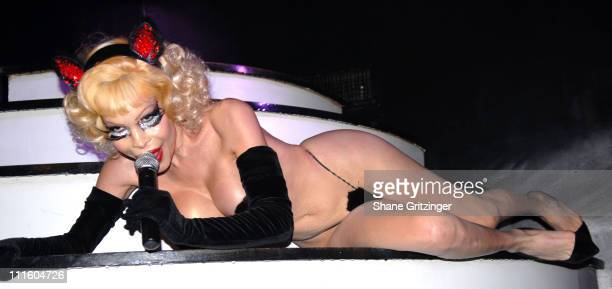 Amanda Lepore during Amanda Lepore Launches Her New Single My Pussy is Famous with a Special Performance at Happy Valley in New York City New York...