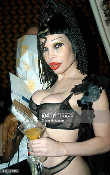 Amanda LePore during Amanda LePore's Birthday Party at Plaid in New York City New York United States