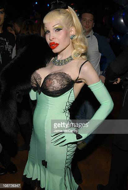 Amanda Lepore during Charm School University at Marquee at Marquee in New York City New York United States