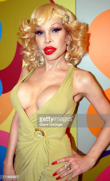 Amanda Lepore during David LaChapelle Signs His New Book 'Heaven to Hell' at the Taschen Store Soho in New York City February 22 2007 at Taschen...