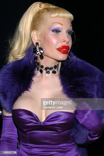 Amanda Lepore during Dior Homme Party in Honor of Dior Store Opening at 545 W 22nd St in New York City New York United States
