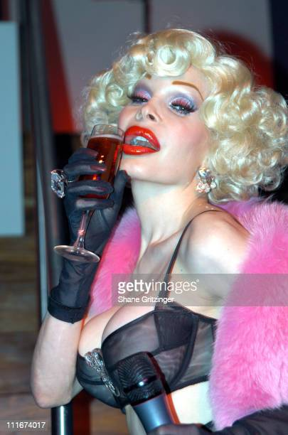 Amanda LePore during Heatherette Designer Richie Rich and Amanda LePore host Faggot Feud at XL at XL in New York City New York United States