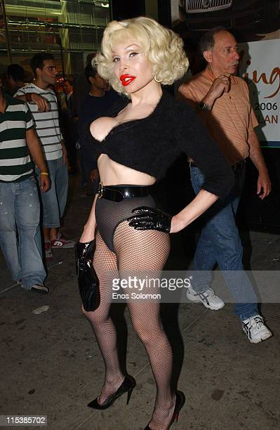 Amanda Lepore during Olympus Fashion Week Spring 2006 Style Lounge Day 2 Patricia Field at Style Lounge at Times Square Studios in New York City New...