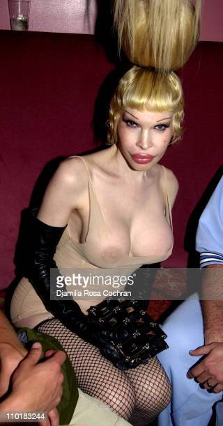 Amanda Lepore during Sophia Lamar's Birthday Party at Plaid at Plaid in New York City New York United States