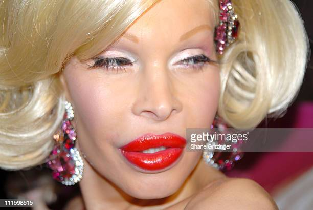 Amanda Lepore during The Amanda Lepore Doll Launch Party To Benefit The Design Industry Foundation Fighting AIDS at Jeffrey in New York City NY...