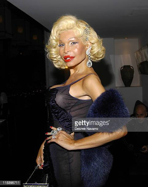 Amanda Lepore during The Gastineau Girl Limited Edition Designer Doll Collection Unveiling at Sapa in New York City New York United States