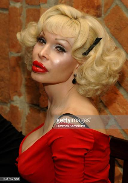 Amanda Lepore during The Voice of the Streets Benefit at Churrascaria Plataforma Tribeca in New York City New York United States