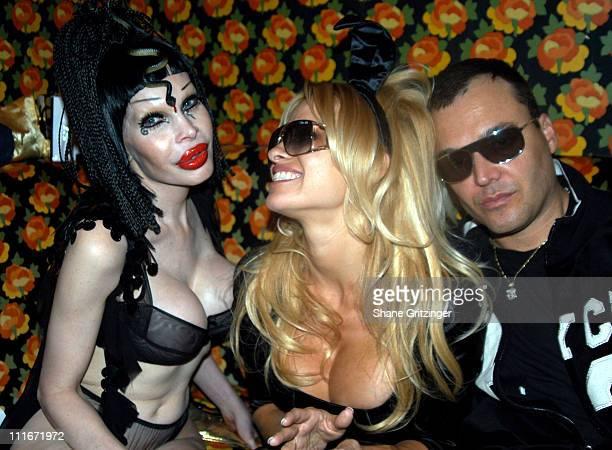 Amanda LePore Pamela Anderson and David LaChapelle