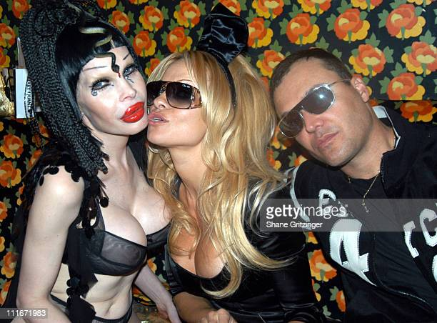 Amanda LePore Pamela Anderson and David LaChapelle