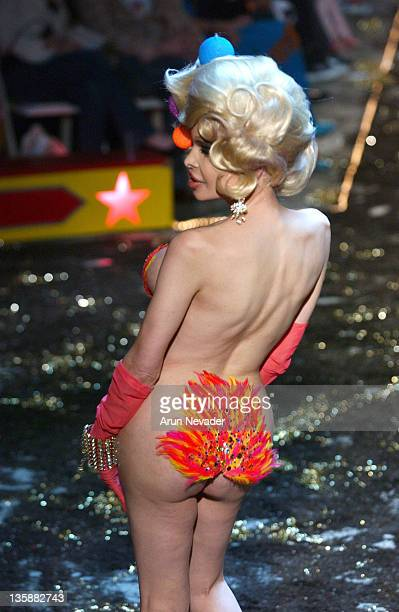 Amanda Lepore wearing Heatherette Fall 2004 Collection