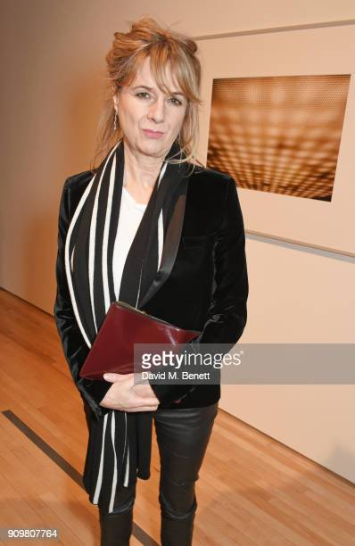 Amanda Levete attends the reopening of The Hayward Gallery featuring the first major UK retrospective of the work of German photographer Andreas...