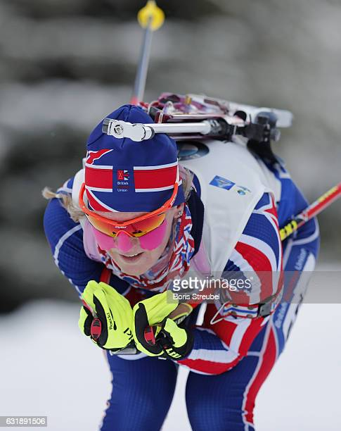 Amanda Lightfoot of Great Britain competes during the 75 km women's Sprint on January 6 2017 in Oberhof Germany