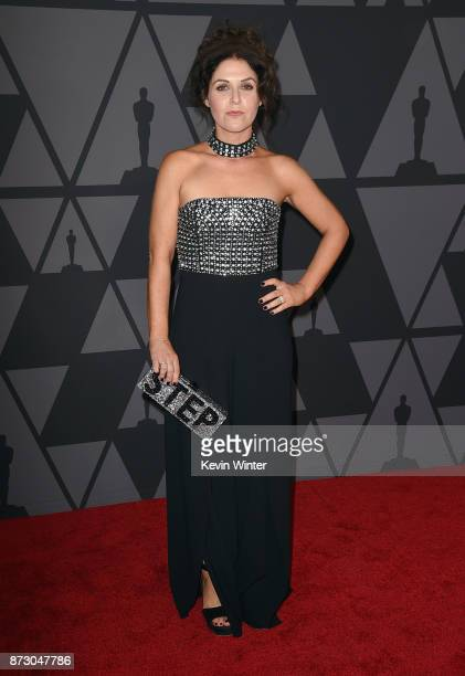 Amanda Lipitz attends the Academy of Motion Picture Arts and Sciences' 9th Annual Governors Awards at The Ray Dolby Ballroom at Hollywood Highland...