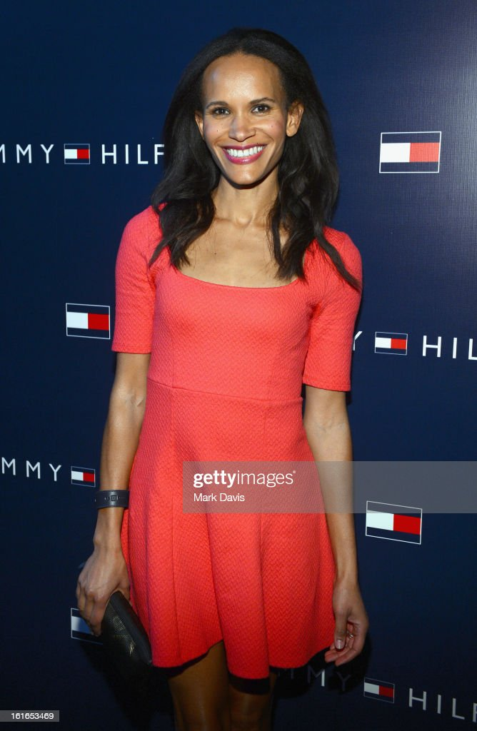 Amanda Lutrell attends Tommy Hilfiger New West Coast Flagship Opening After Party at a Private Club on February 13, 2013 in West Hollywood, California.