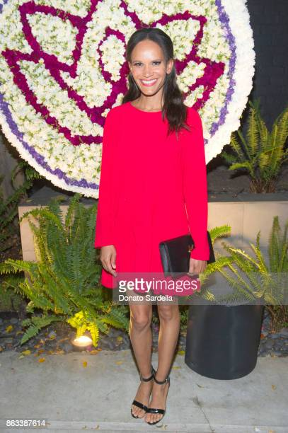 Amanda Luttrell Garrigus at Living Beauty 'The Gift' Photo Exhibit at The Buterbaugh Gallery on October 19 2017 in Los Angeles California