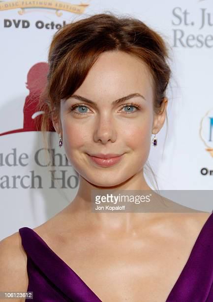 Amanda Marsh during Runway For Life Benefiting St Jude Children's Research Hospital Arrivals at Beverly Hilton in Beverly Hills California United...