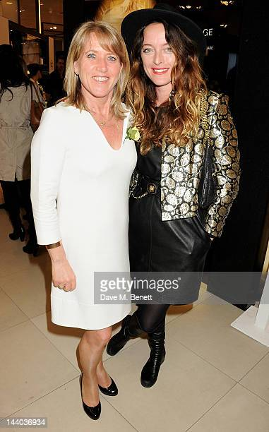 Amanda Marshall and Alice Temperley attend the launch of the new John Lewis Beauty Hall Oxford Street on May 8 2012 in London England