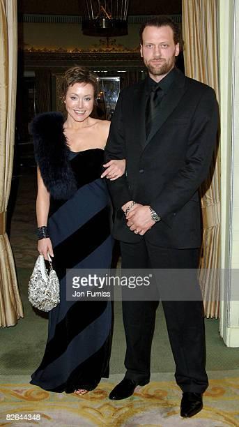 Amanda Mealing and husband