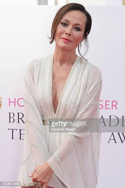 Amanda Mealing attends the House of Fraser British Academy Television Awards at Theatre Royal Drury Lane on May 10 2015 in London England