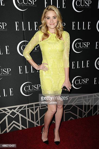 Amanda Michalka attends ELLE's 5th annual Women In Music concert celebration at Avalon on April 22 2014 in Hollywood California