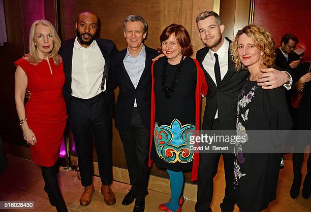 Amanda Nevill Arinze Kene Duncan Kenworthy Clare Stewart Russell Tovey and Tricia Tuttle attend the after party following the UK Premiere of 'The...