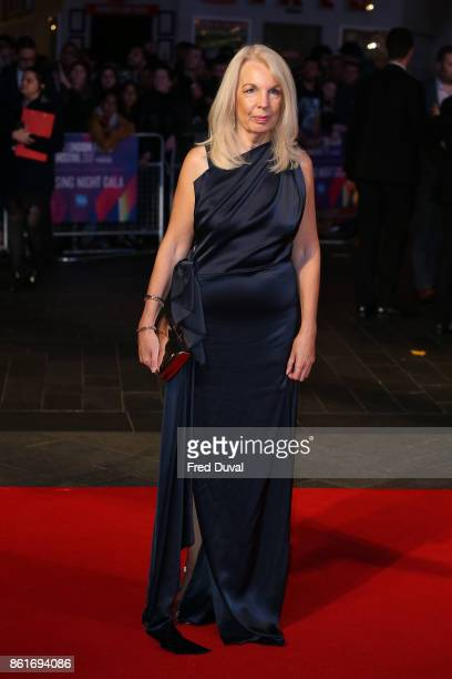Amanda Nevill attends the UK Premiere of 'Three Billboards Outside Ebbing Missouri' at the closing night gala of the 61st BFI London Film Festival on...