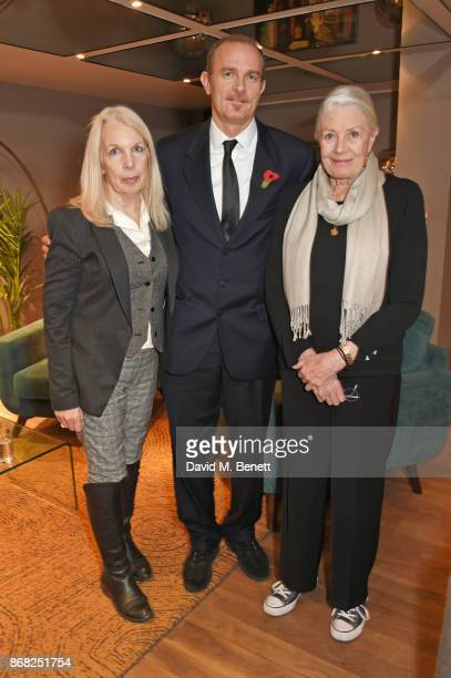Amanda Nevill BFI CEO producer Carlo Gabriel Nero and director Vanessa Redgrave attend a special screening of Sea Sorrow a documentary about child...