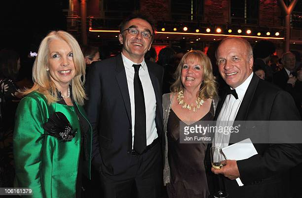 Amanda Nevill Director of the BFI Director Danny Boyle Susan Howes and BFI Chairman Greg Dyke attend the BFI London Film Festival Awards Ceremony...