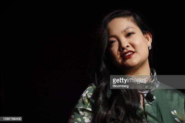 Amanda Nguyen chief executive officer and founder of Rise Up Inc speaks during the 2019 Makers Conference in Dana Point California US on Friday Feb 8...